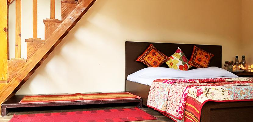 The Calm Cottages Nathuakhan Attic Room 4
