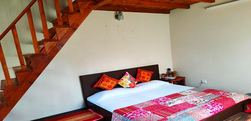 The Calm Cottages Nathuakhan Attic Room 9