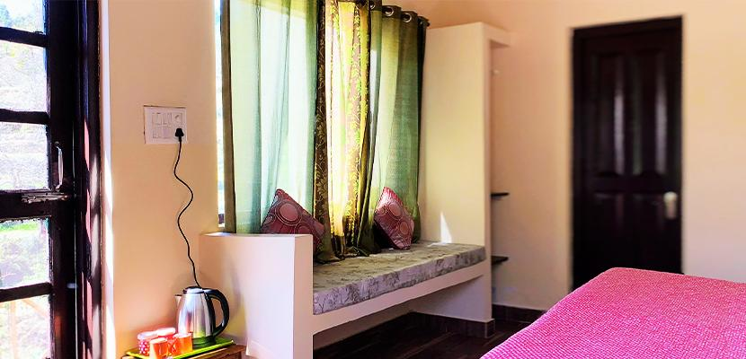 The Calm Cottages Nathuakhan Deluxe Room 3